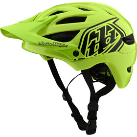 Troy Lee Designs A1 Casco Ragazzi, drone flo yellow/black